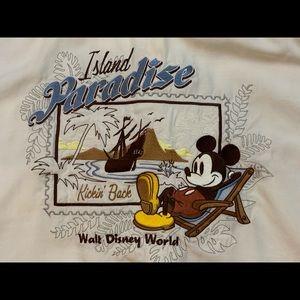 Walt Disney World Mickey Mouse Hawaiian Shirt